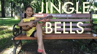 Uke #2 - Jingle Bells - Fiona Thai's cover - ukulele, lyrics and chords