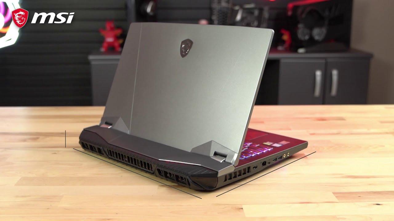 Zastąp PC laptopem MSI - GT76 Titan UNBOXING