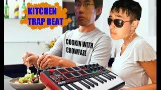 TRAP BEAT with AKAI MPK MINI MK2 feat. MY KITCHEN
