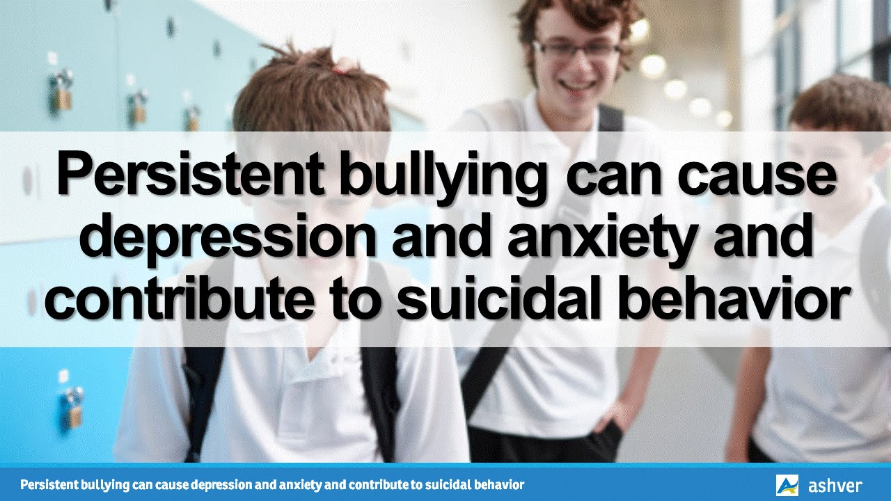 bullying leads to suicide 2018-9-30  bullying and suicide, colloquially referred to as bullycide, are considered together when the cause of suicide is attributable to the victim having been bullied, either in person or via social media.