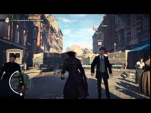 Assassin's Creed Syndicate Bug - Flying carriage!? O.o