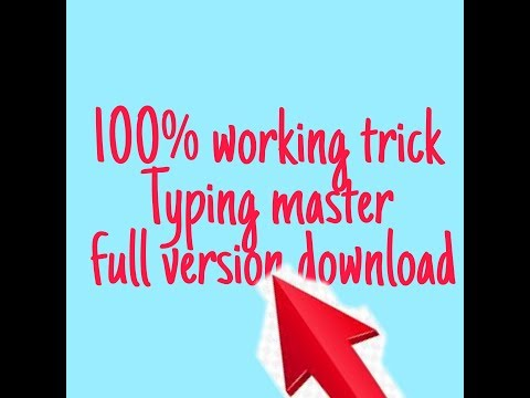 How To Download Typing Master Full Version With 100% Proof
