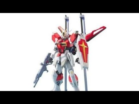 Diy how to make sword impulse gundam from paper with full assembly.