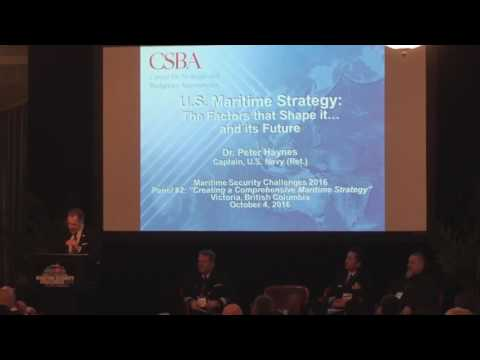 MSC16 Panel: Creating a Comprehensive Maritime Strategy