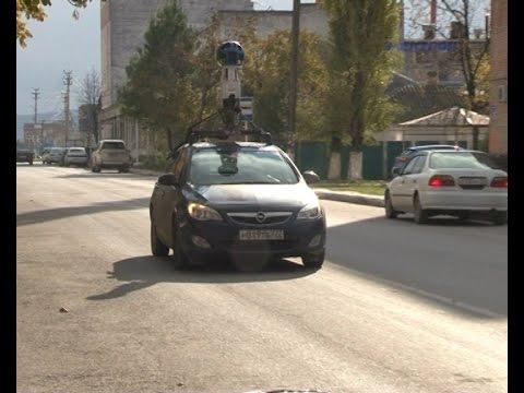 В Крымске был замечен автомобиль Google