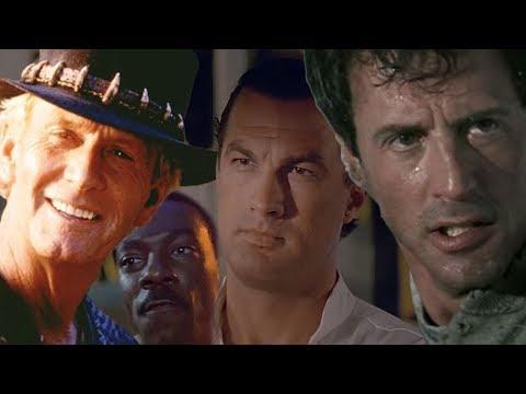 Ещё 5 Мужских фильмов 80-90-х. В осаде, Скалолаз, Данди, Танго и Кэш, 48 часов
