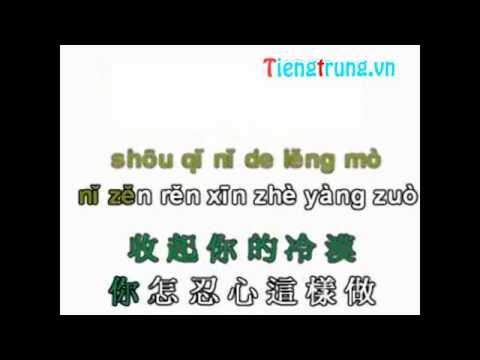 Học Tiếng Trung qua bài hát tiengtrung.vn ai shang ni shi yi ge cuo