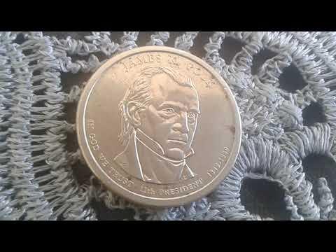 Rare Coin Presidential Dollar Error 2009 P James K. Polk US Mint Error Coin Value