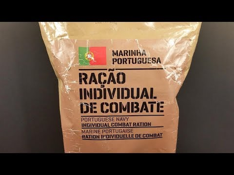 2016 Portuguese Navy 24 Hour Individual Combat Ration MRE Re