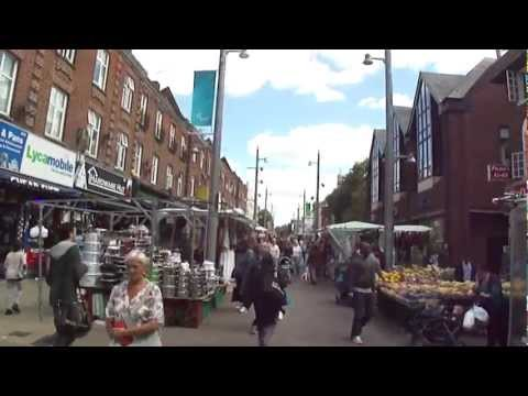 A walk through Walthamstow Street Market, London, 31st August 2012