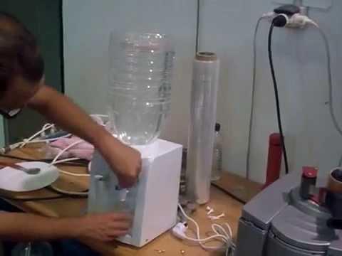 Fuente de agua para 5 litros youtube - Fuente de pared ...
