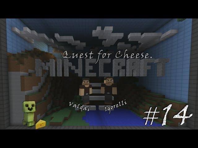 Смотреть прохождение игры Minecraft Quest for Cheese. Серия 14 - Дом, милый дом.