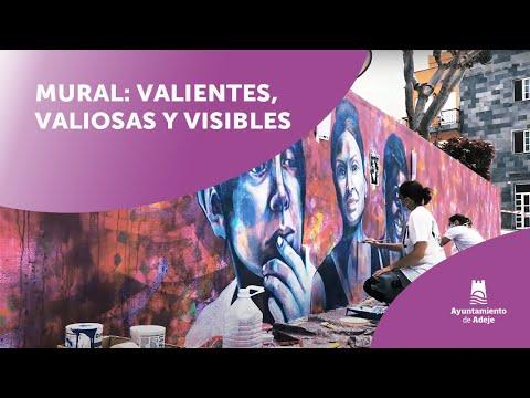 ver video: Mural: valientes, valiosas y visibles
