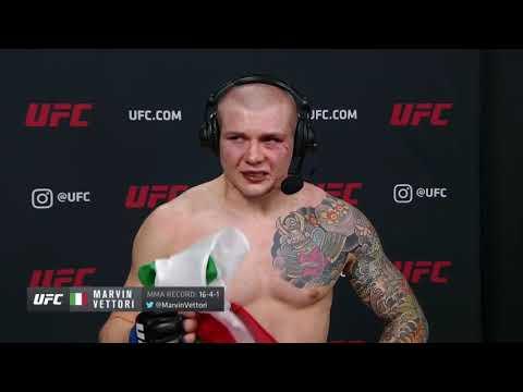 UFC Вегас 16: Марвин Веттори - Слова после боя