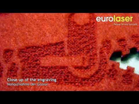 Laser cutting and engraving of fleece - Laserschneiden und gravieren von Fleece - eurolaser