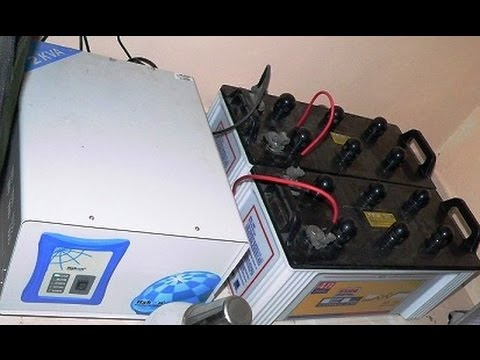 Double battery inverter connection how to connect 24 volt ups to double battery inverter connection how to connect 24 volt ups to batteries in urduhindi youtube asfbconference2016 Gallery