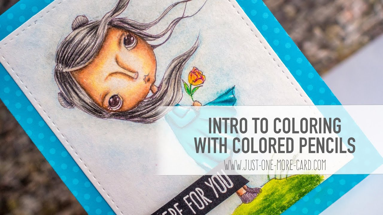 Coloring with Pencils - Tips and Tricks - YouTube