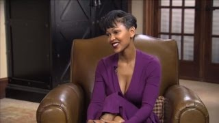 Monica Cost Interviews, Costar of Anchorman 2 and Actress Meagan Good on The Monica Cost Show