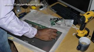 stripping an aoc led monitor