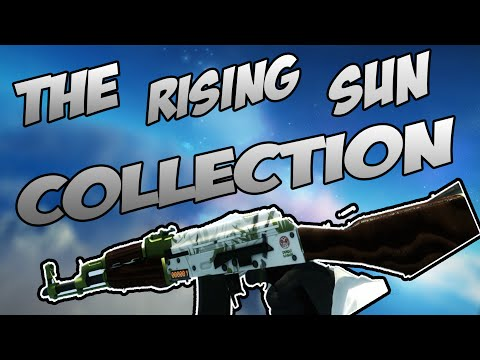 CS:GO - The Rising Sun Collection Skins Showcase [In game]