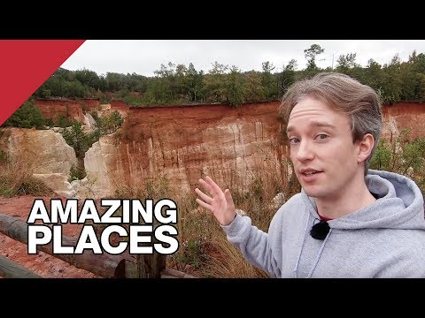 The Canyon That Humans Made By Accident