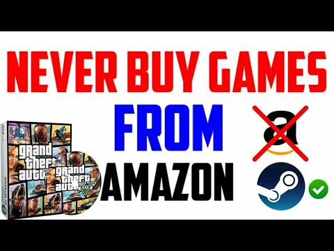 Never Buy Games From Amazon,Flipkart,G2A | Buy Games From Steam | Bad Experience With GTA 5 Disk