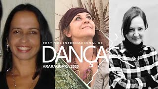 """Encontros: """"Dança e Política: novas reflexões a partir da teoria corpomídia"""" - FIDA 2020"""