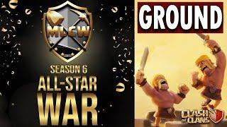 MLCW ALL STAR WAR | GROUND RECAP | TOP RAIDS