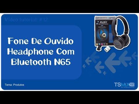 Fone De Ouvido Headphone Com Bluetooth N65 | #12