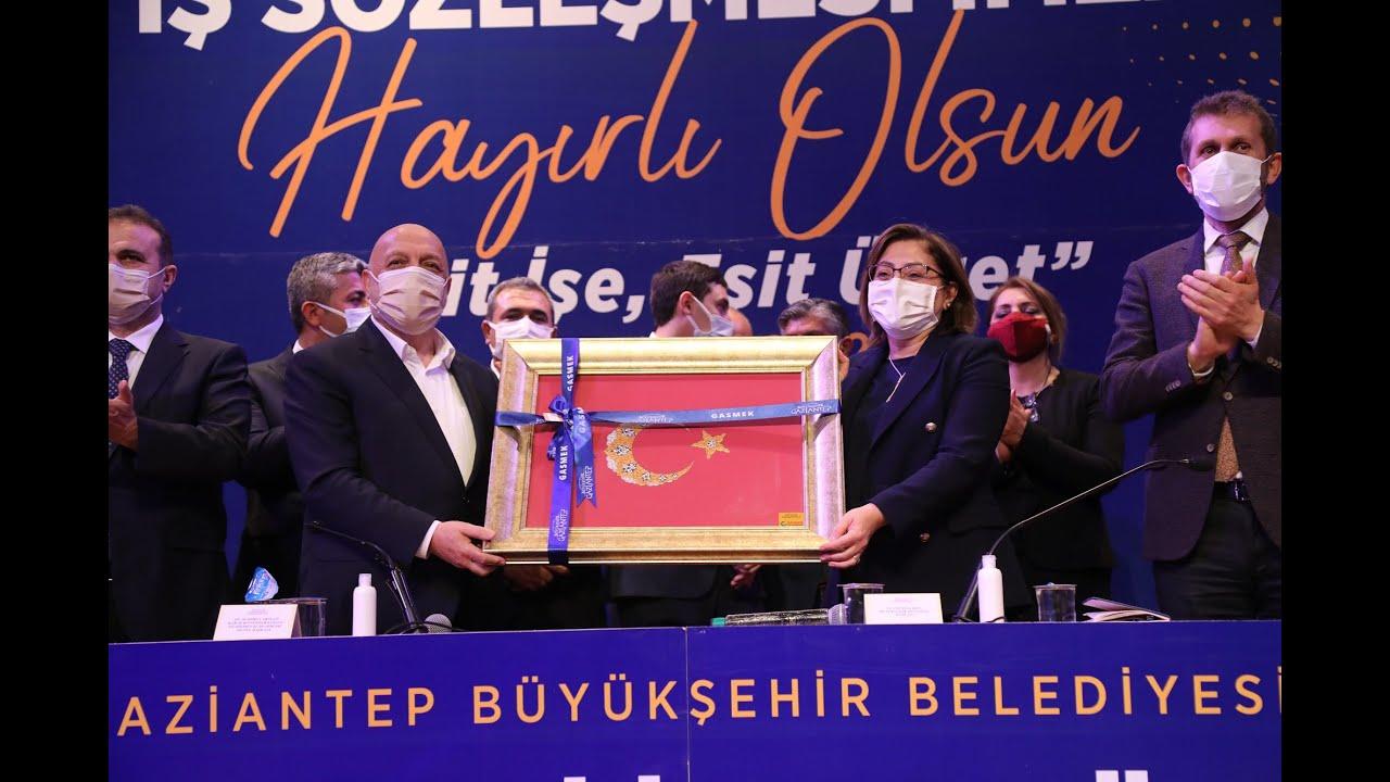 Gaziantep Büyükşehir Belediyesi'nde en düşük asgari ücret 3 bin 557 lira oldu