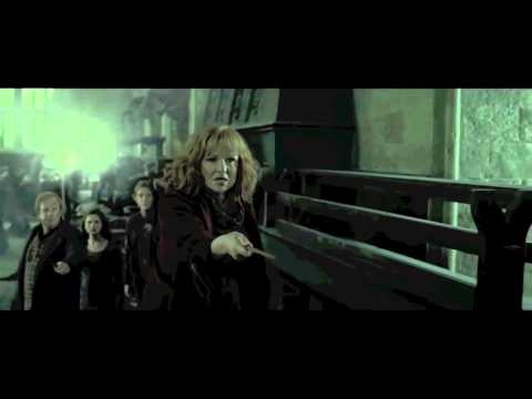 Molly Weasley kills Bellatrix Lestrange - YouTube