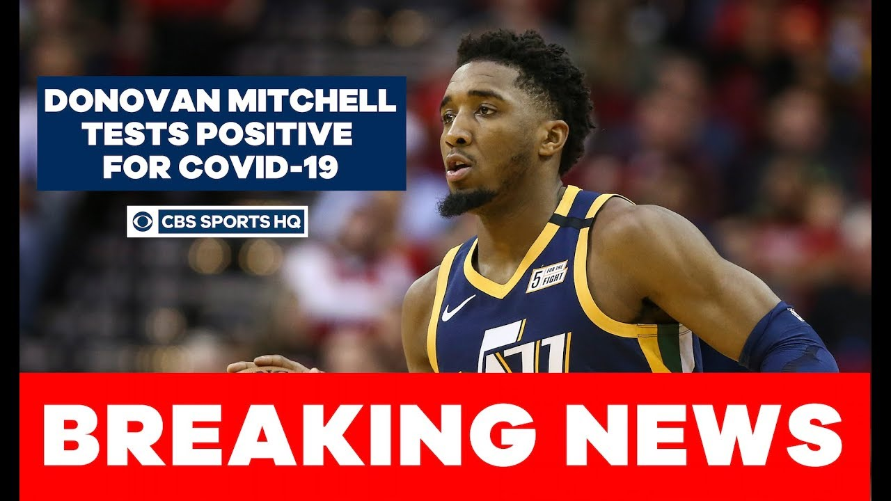 Donovan Mitchell second NBA player to test positive for coronavirus, per report | CBS Sports HQ