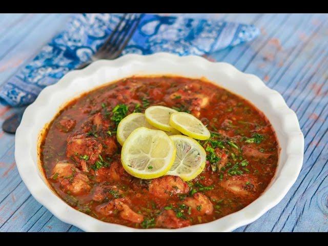 مطبخ اسيا - البورى بالصلصة الخاصة   كزبرية السمك - الجزء الثانى