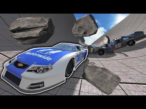 EXTREME NASCAR AVALANCHE RACES & CRASHES! - BeamNG Drive Gameplay & Crashes - Car Crash Game Mp3