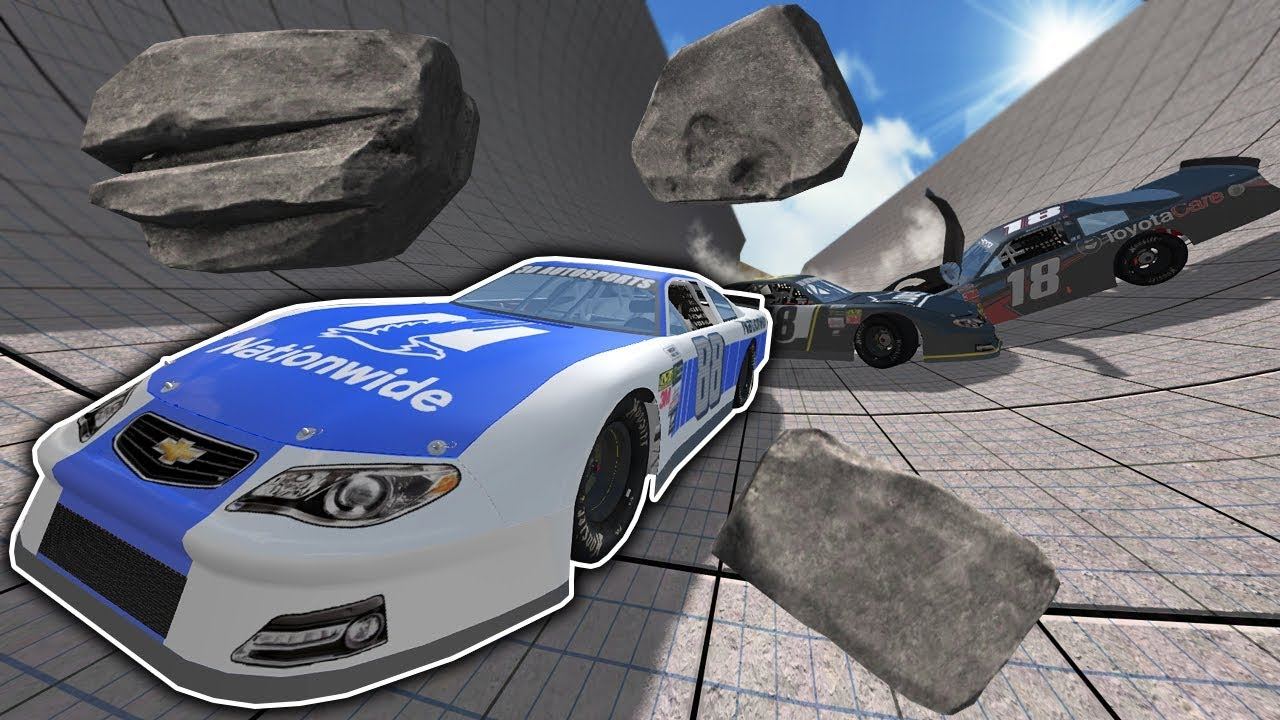 EXTREME NASCAR AVALANCHE RACES & CRASHES! - BeamNG Drive ...