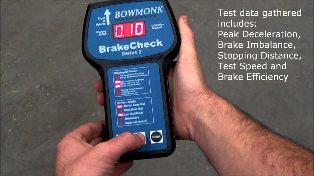 Bowmonk Brake Meter