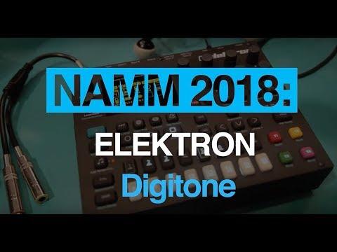NAMM 2018: Hear Elektron Digitone in action