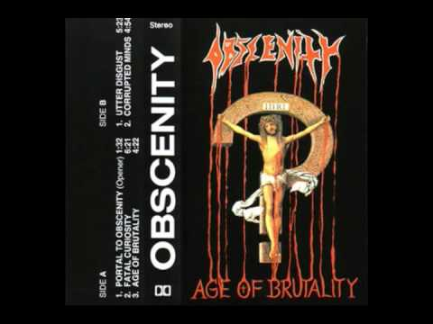 Obscenity - Age of Brutality [Full demo]