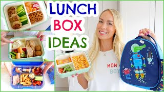 *NEW* LUNCHBOX IDEAS FOR BACK TO SCHOOL! Easy Sandwich Alternatives | Emily Norris