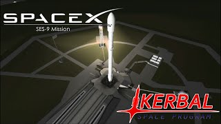 SpaceX SES-9 Mission