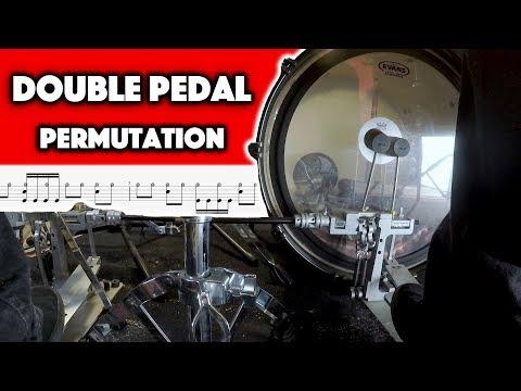 Beginner Drum Lesson - Double Pedal Permutation