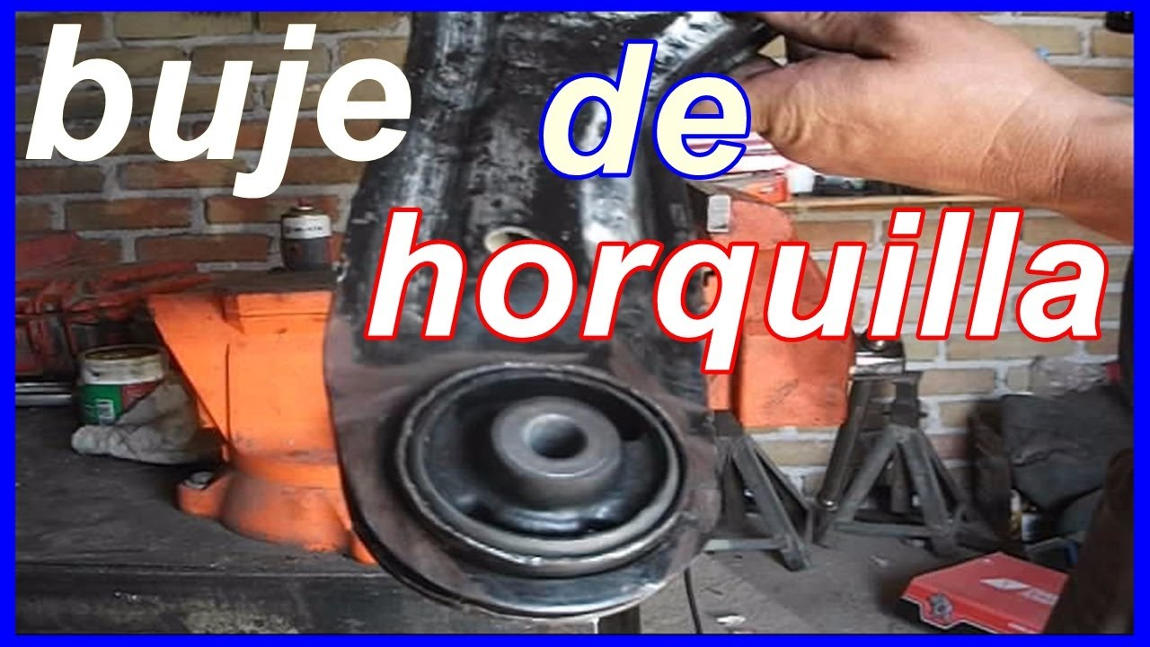 Cambio De Bujes De Horquilla De Suspension Youtube
