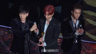 AAA 시상식 / 수상소감 (은혁 동해 포커스 / Eunhyuk & Donghae focus)