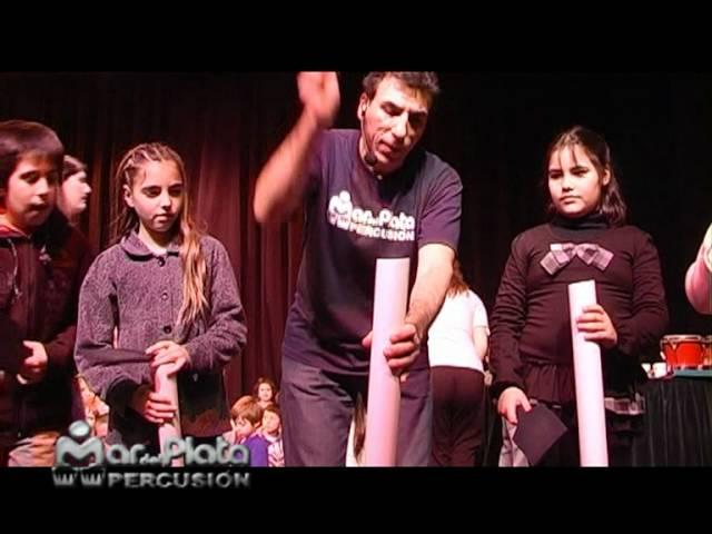 Percusión para niños. Taller / Espectáculo