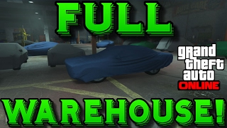 Gta 5 Online FULL CAR WAREHOUSE Car Exporting Import Export Dlc