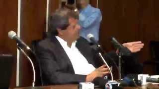 Entrevista do Pres. Agetop, Jayme Rincón, ao Clube de Repórteres Políticos