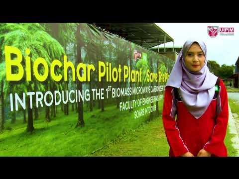 Pakar Go Green - Biomass Microwave Carbonizer