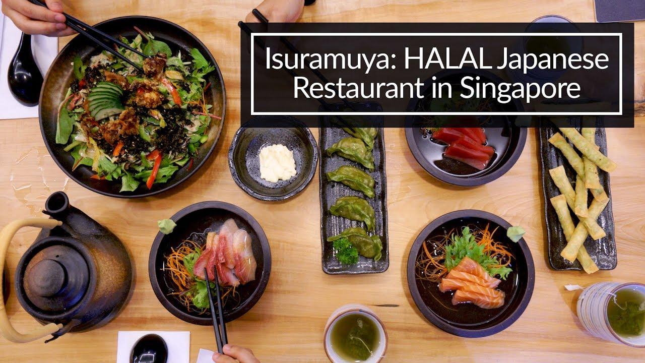 Isuramuya Halal Japanese Restaurant In Singapore Youtube