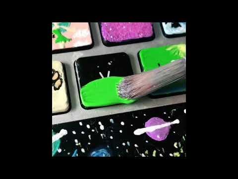 Painting Keyboards Tik Tok Compilation