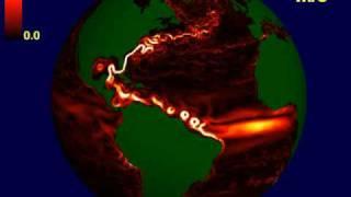 Новая схема океанических течений от NASA